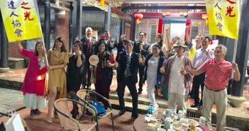 台灣之光百業達人協會跨時空歌舞劇慶中秋雙十活動
