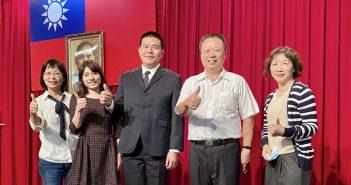 彰化榮家家主任史浩誠(右二)率同仁出席廉政楷模表揚大會