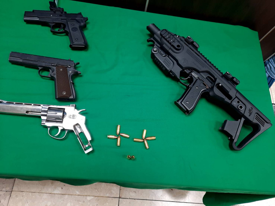 投縣警聯合中市警 破獲持槍組織犯罪案