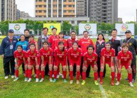 2021台灣木蘭足球聯賽於青埔足球場開打   歡迎市民朋友到場觀賽