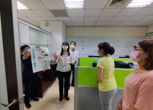 高市毒防局因應防疫升級 提高防疫措施警戒
